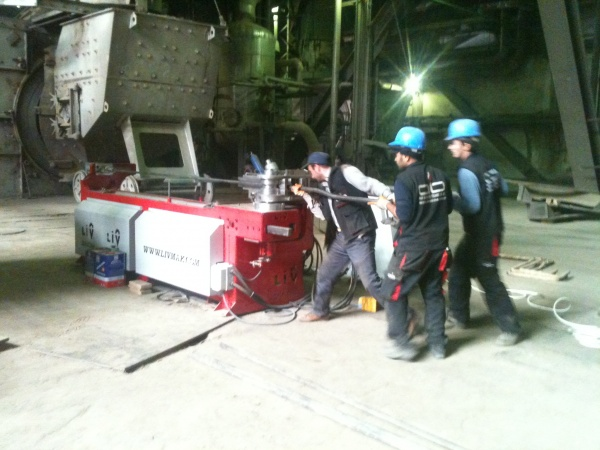 12000 m of pipe replacement work in YEAŞ Yatağan Thermal Power Plant SNT-1 package
